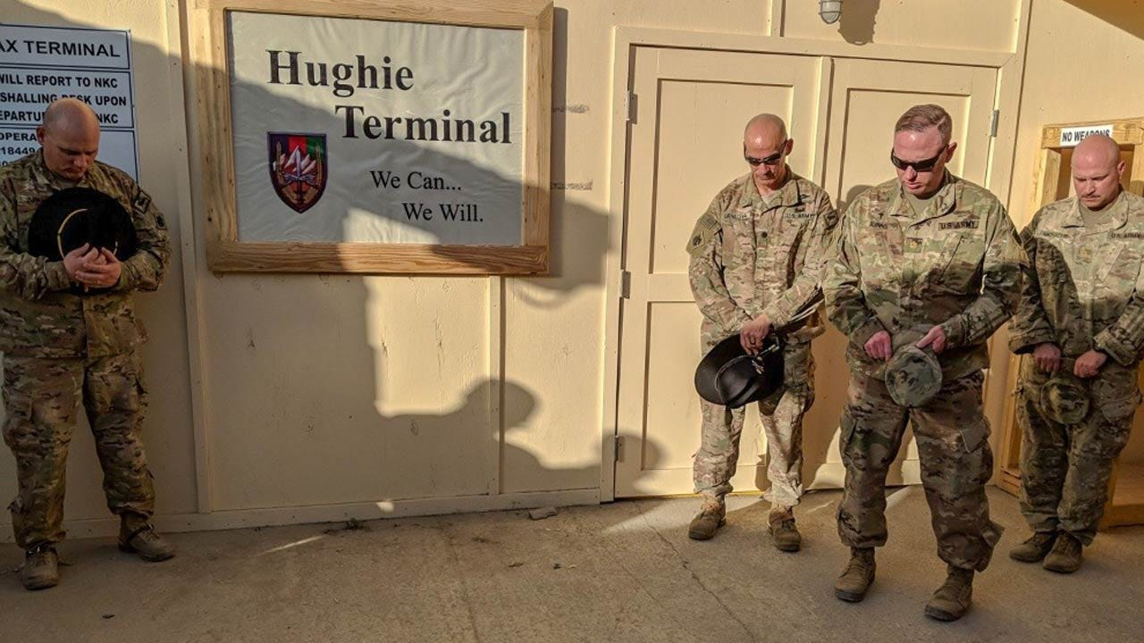 Afghanistan Flight Terminal Named For Oklahoma Soldier