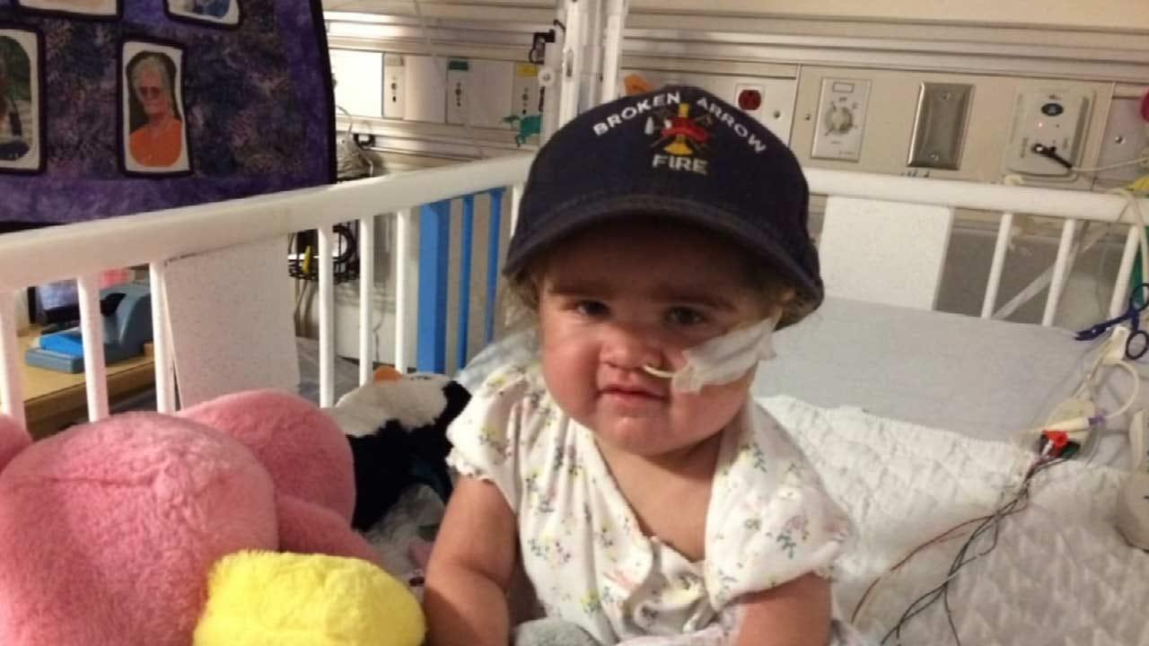 Broken Arrow Firefighter's Daughter Receives Heart Transplant