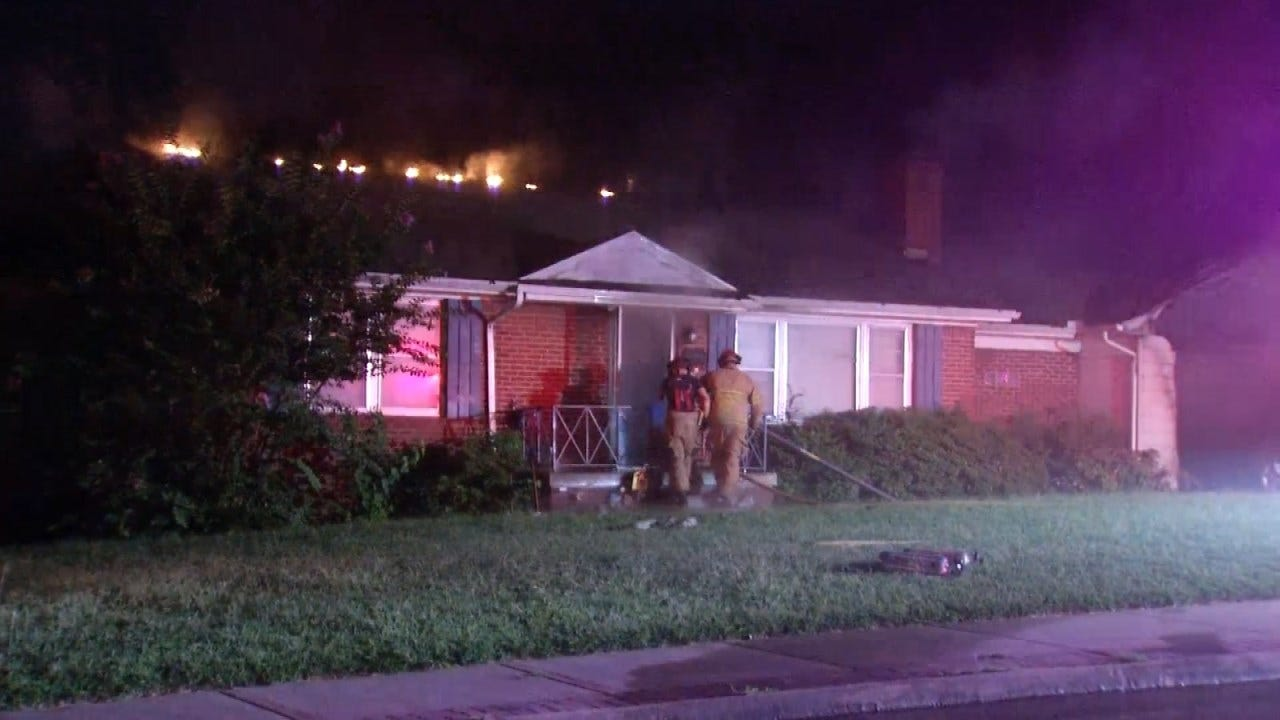 Dog's Barking Alerts Woman To Fire In Her Tulsa Home