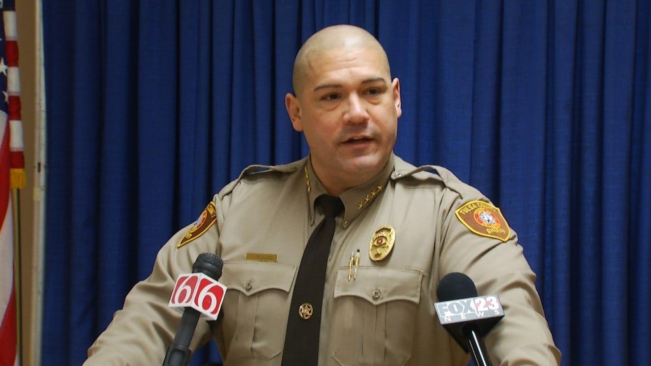 Tulsa County Sheriff In Washington For White House Meeting