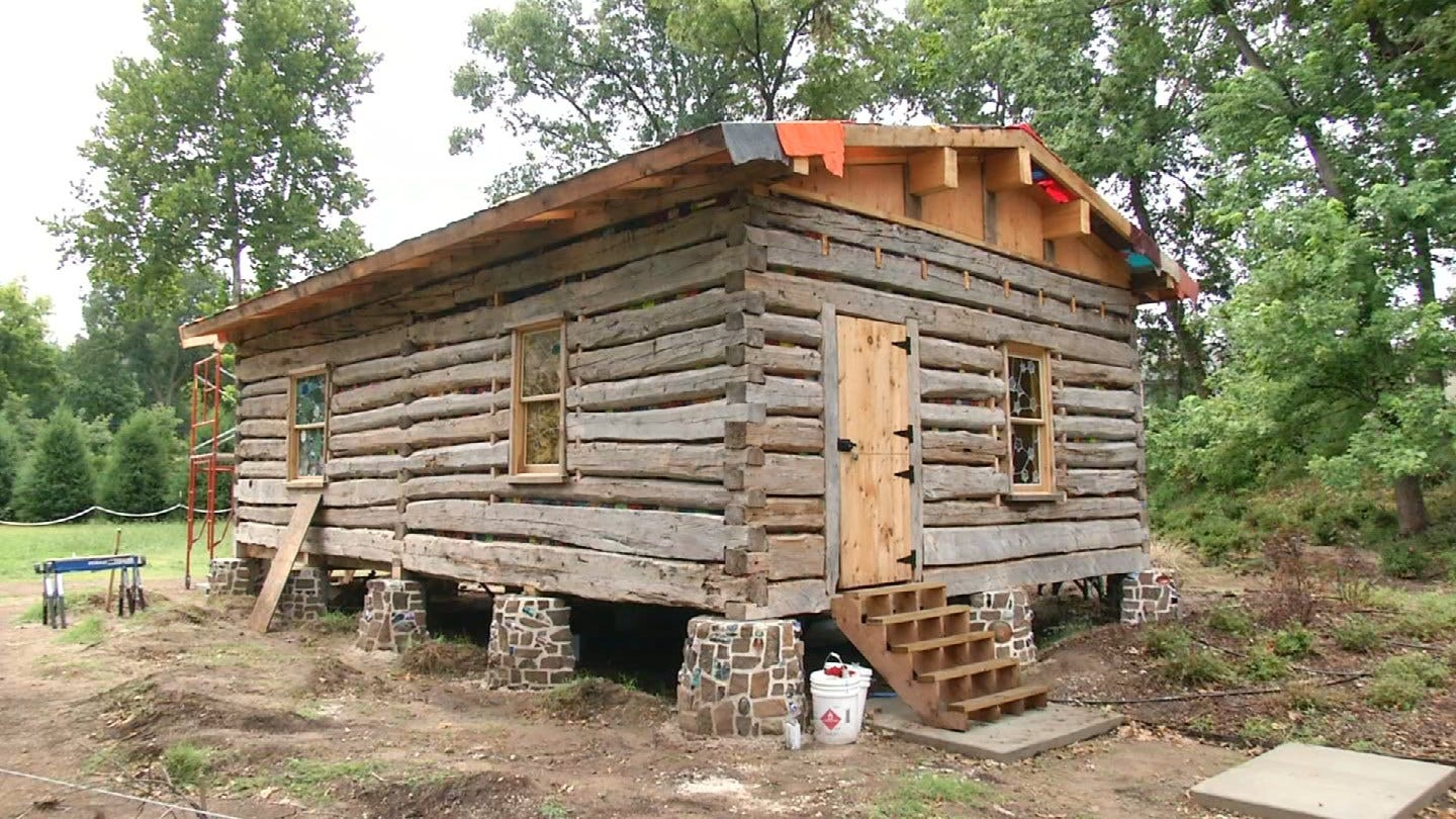 Unique Cabin From 1800's Coming To Philbrook Museum