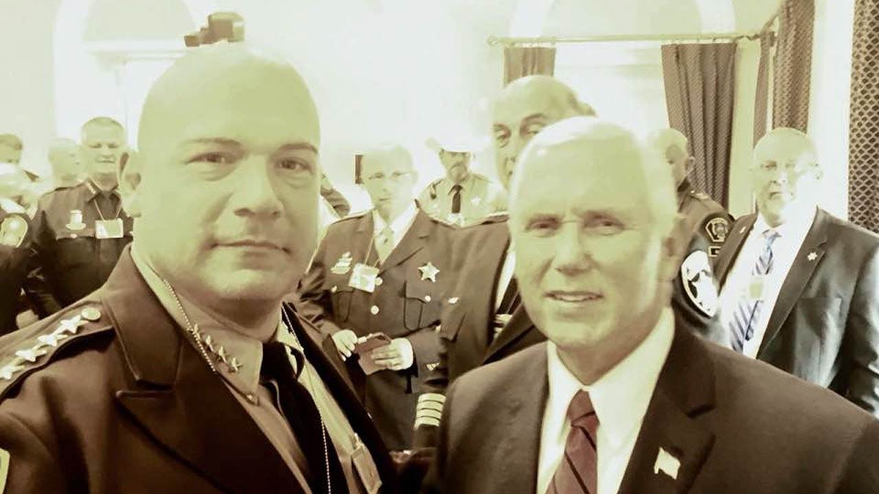 Tulsa Sheriff Talks Immigration Reform During White House Visit
