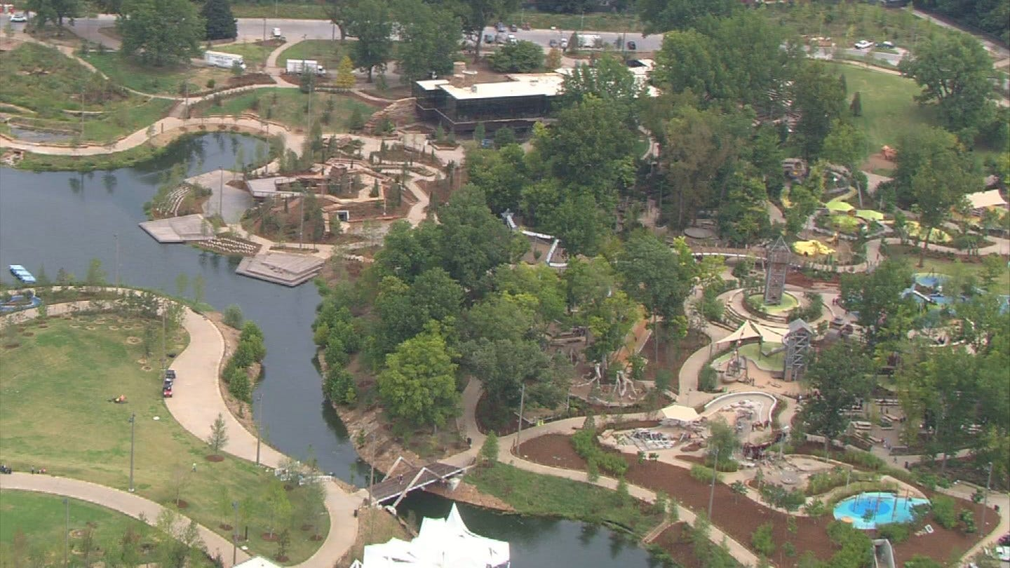 Tulsa's Gathering Place Not Just For Kids