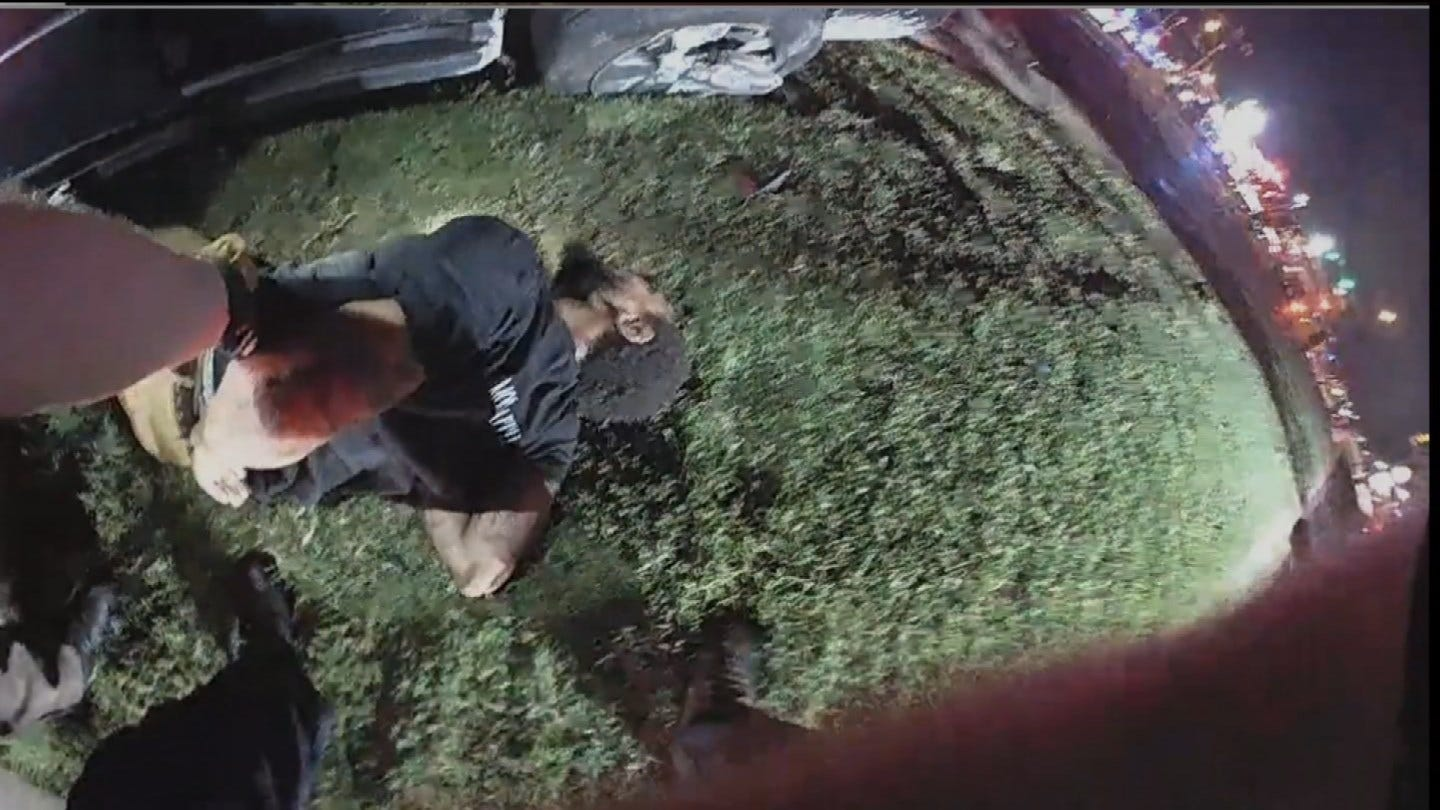 Tulsa Police Release Dramatic Footage From 2018 Crash