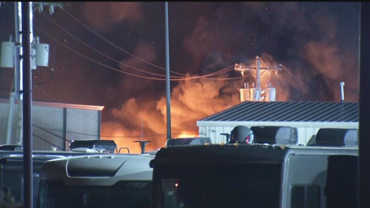 Video Shows Arsonists Starting Bob Hurley RV Fire