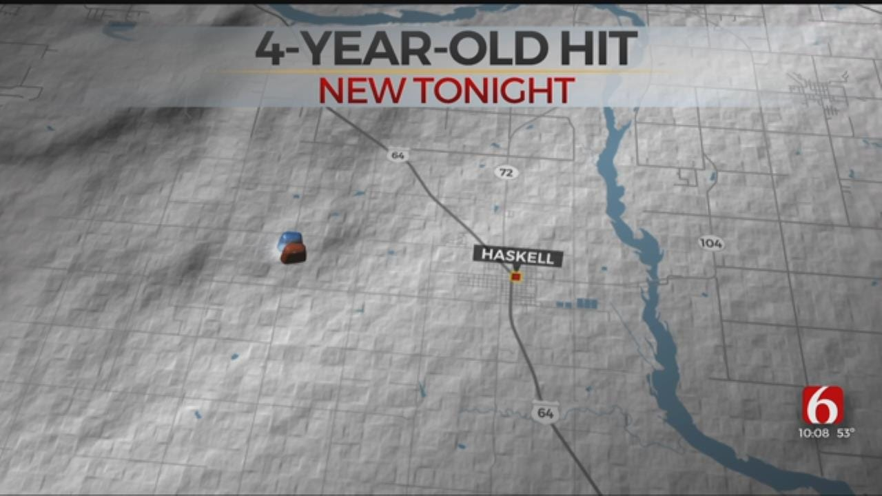 4-Year-Old Boy Recovering After Being Run Over In Haskell
