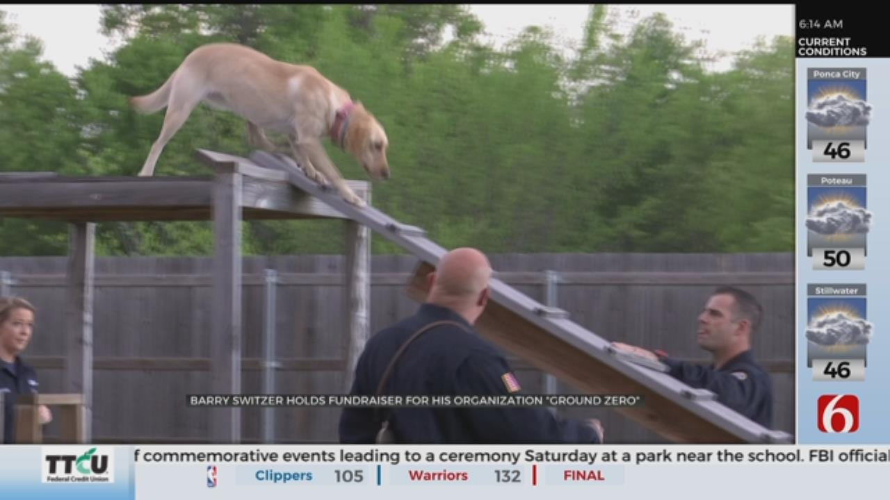 Oklahoma Search And Rescue Dog Organization Holds Fund Raiser
