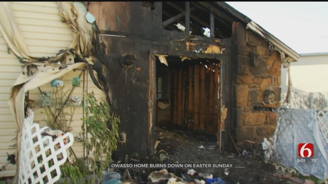Owasso Woman Starting Over after Dogs, Turtle Killed In House Fire
