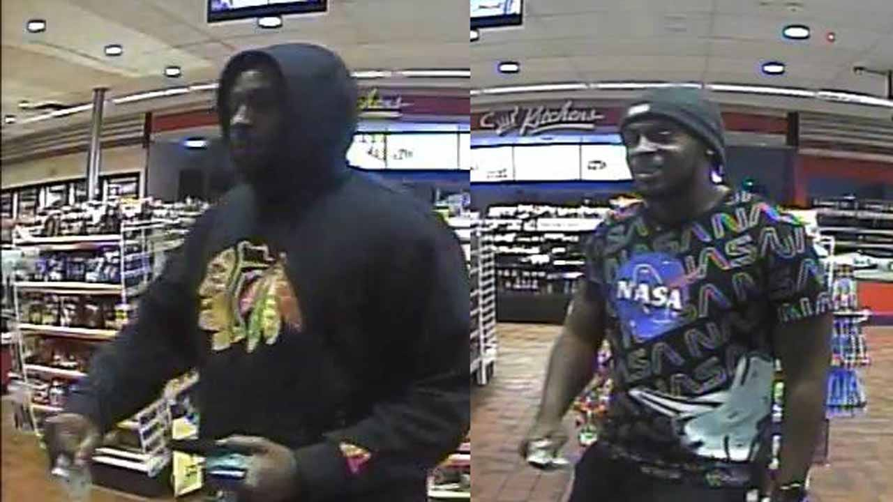Tulsa Police Searching For Suspects In ATM Theft