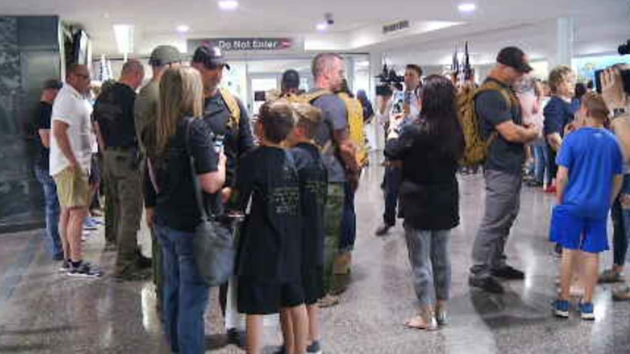 Tulsa Police Team Back Home After International Warrior Competition