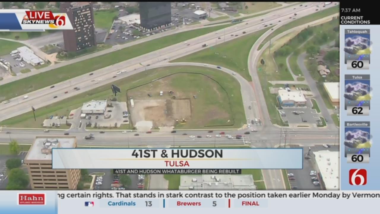 Construction Begins On Whataburger Damaged In 2017 Tornado