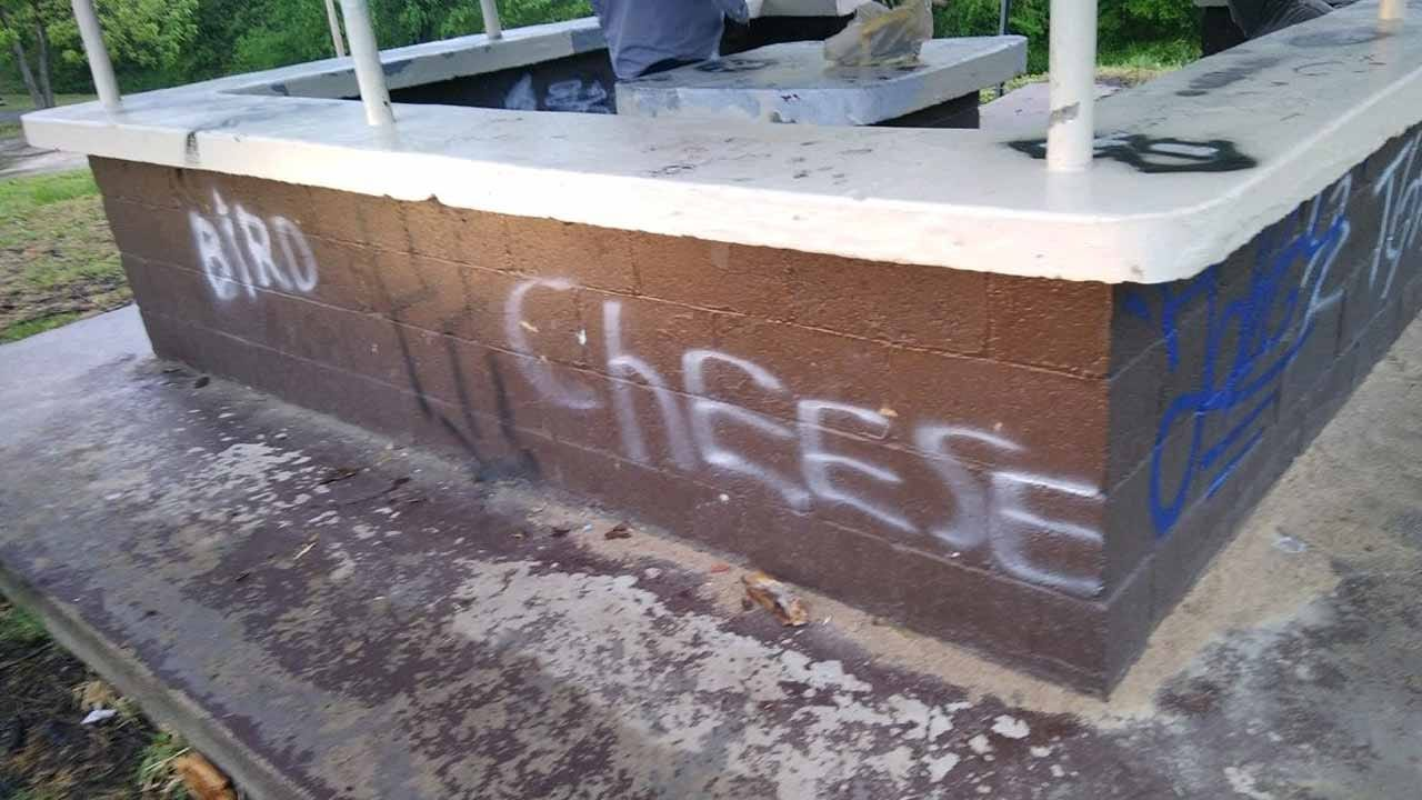 Collinsville Police Looking For Suspects After City Park Vandalized