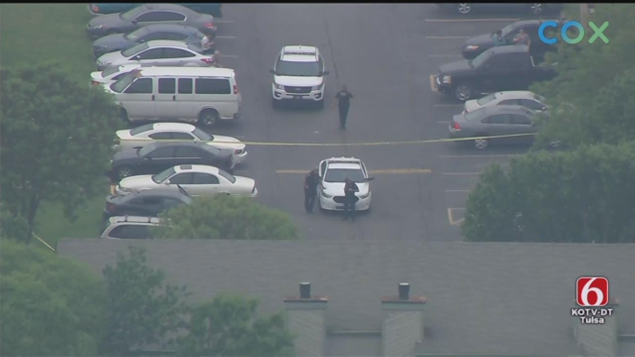 Tulsa Police: Shooting Suspect In Custody At Shoreline Apartments