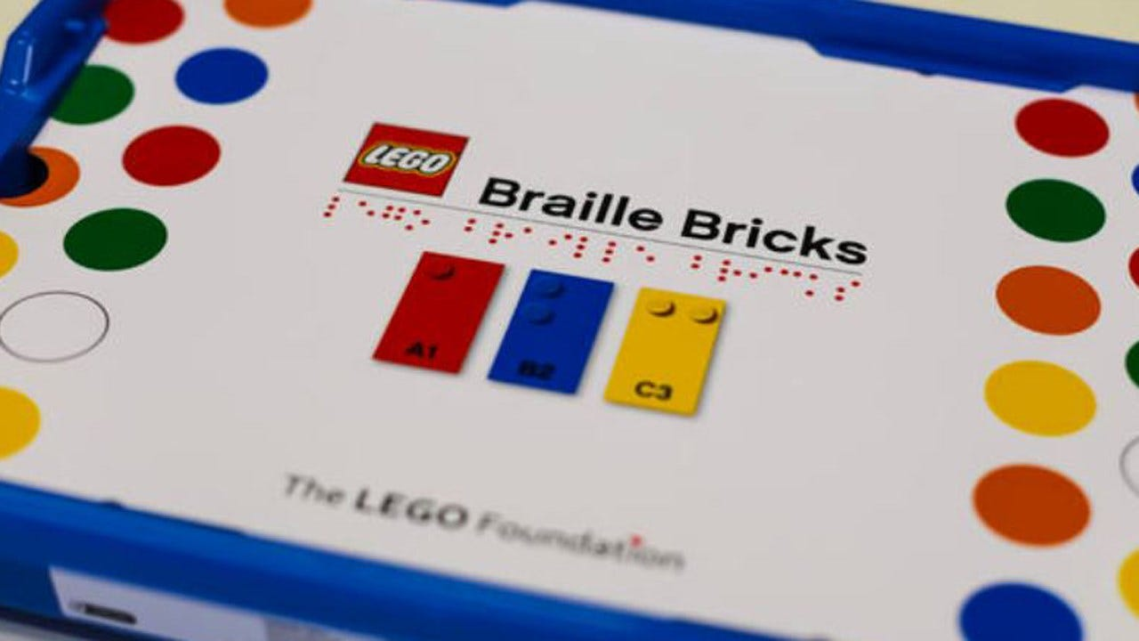 Lego Releases New Bricks To Help Visually Impaired Children Learn Braille