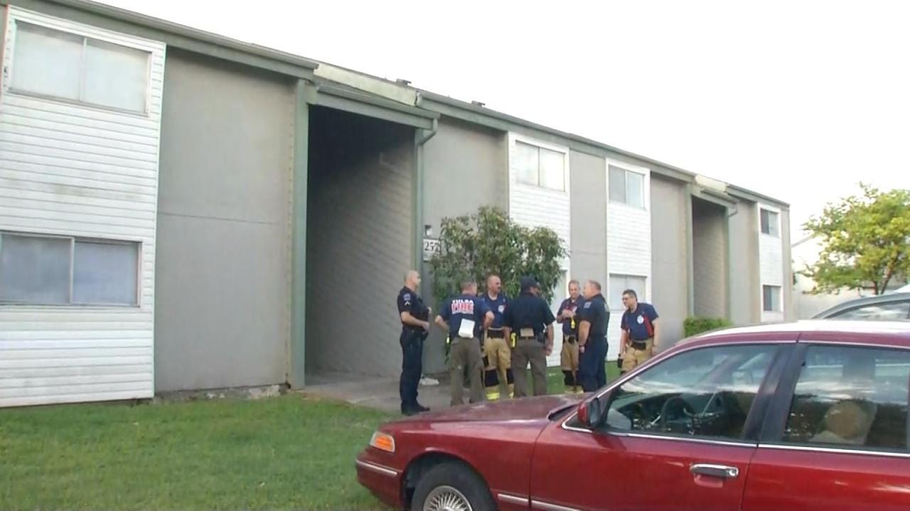 Tulsa Fire: Man Cut Himself And Attempted To Set Fire To Apartment Building