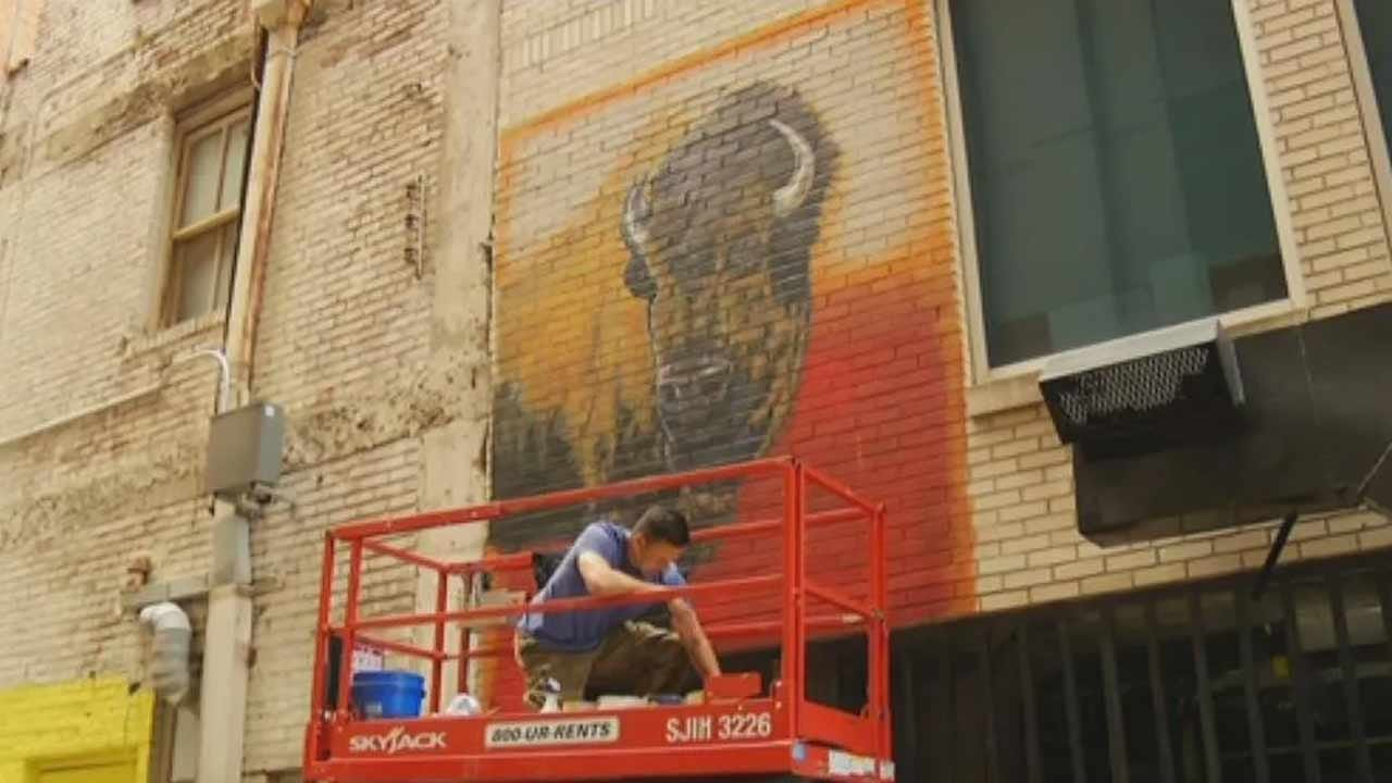 Art Alley Pop-Up Festival Comes To Tulsa