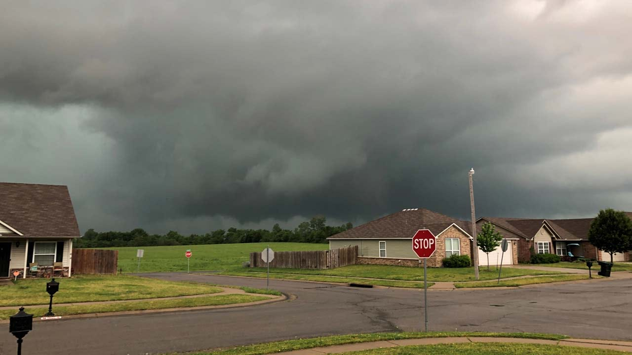 Tornado Reportedly Touches Down North Of Skiatook