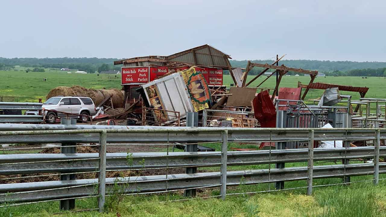 Tornadoes In Okmulgee, Wagoner, Ottawa County Rated By NWS