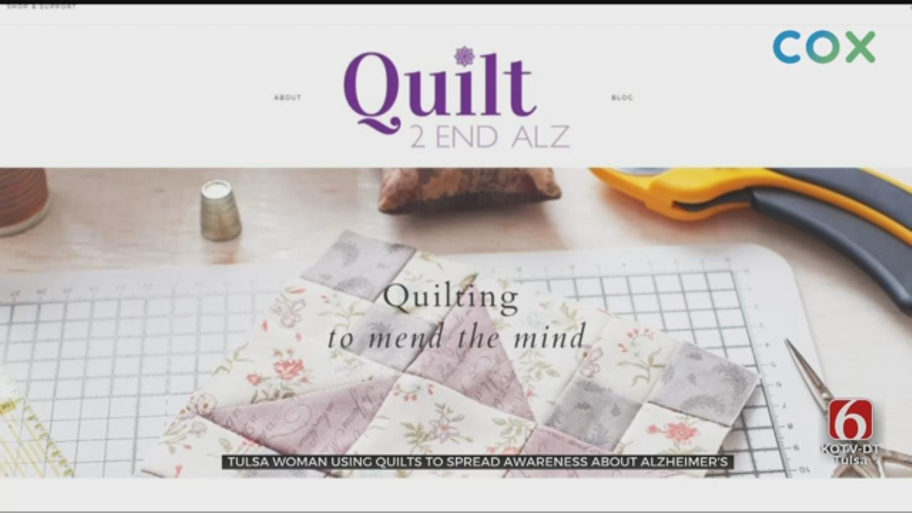 Tulsa Woman Wants Quilters To Join Cause To Help Those With Alzheimer's