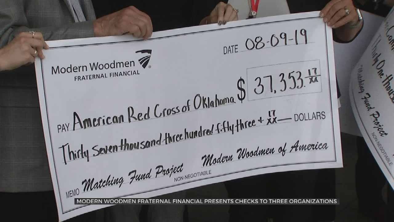 Modern Woodmen Fraternal Financial Donates To Oklahoma Disaster Relief