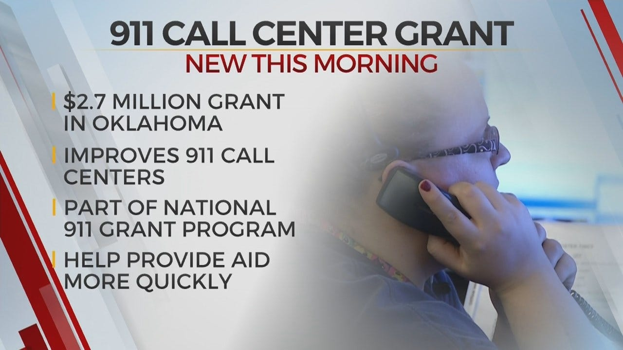 Oklahoma 911 Call Centers Receive $2.7 Million In Grant Funds