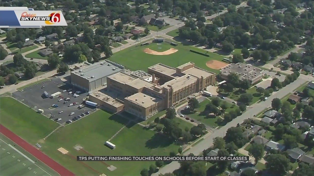 Tulsa Public Schools Wrapping Up Construction