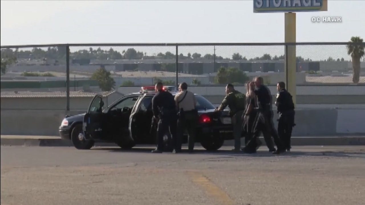 1 Officer Killed, 2 wounded In Los Angeles Freeway Shootout