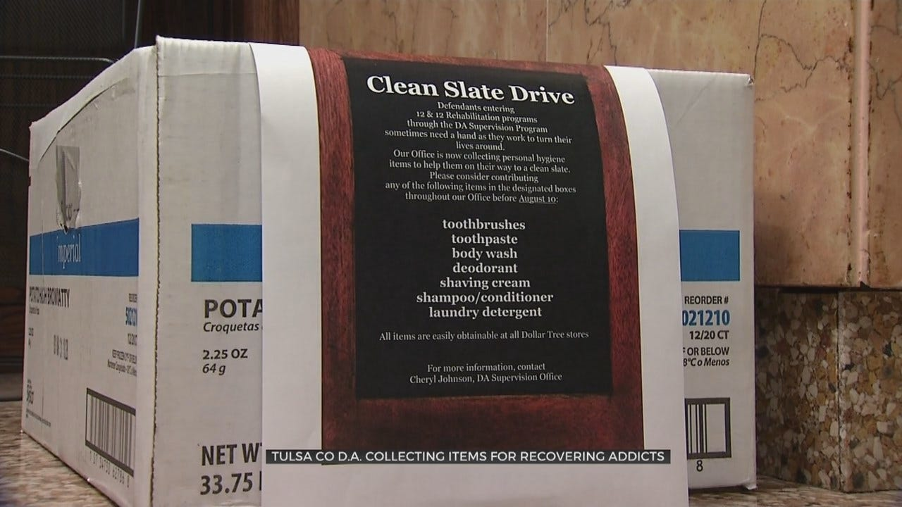 Tulsa Co. Attorney's Office Helps Addicts Get Back On Their Feet
