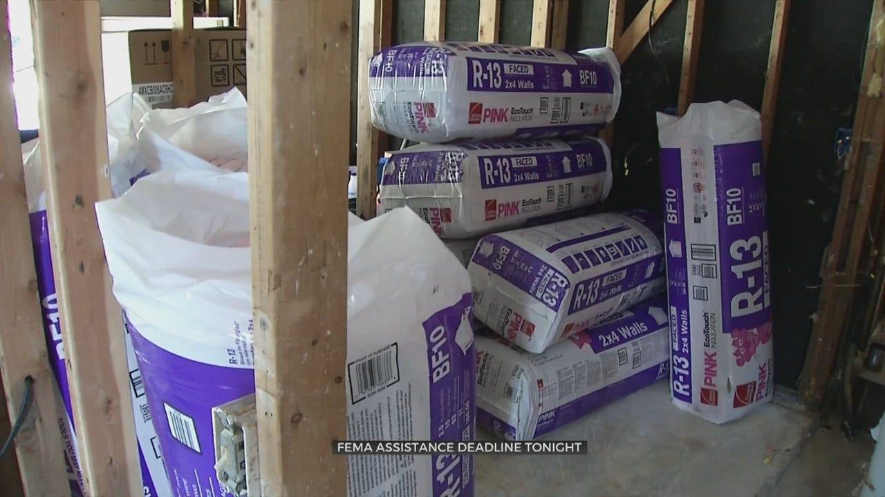 Oklahoma Flood Victims See Last Day To Apply For FEMA