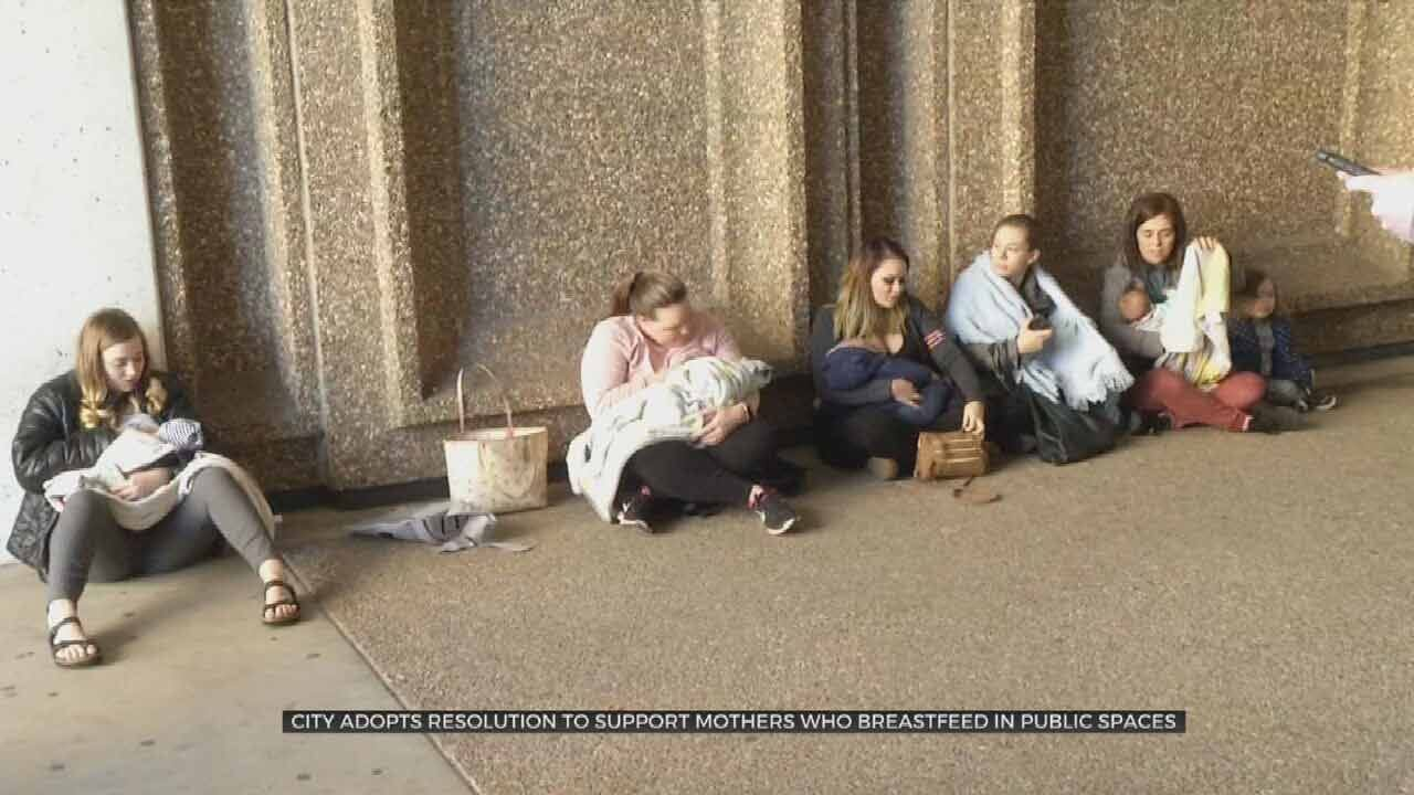 Resolved: City Of Tulsa Supports Woman's Right To Breastfeed In Public