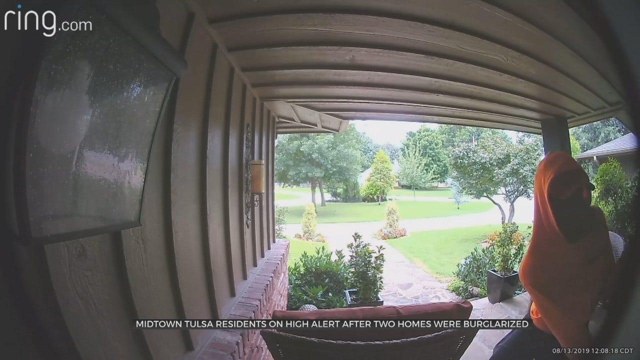 TPD Investigating Midtown Burglaries Caught on Camera