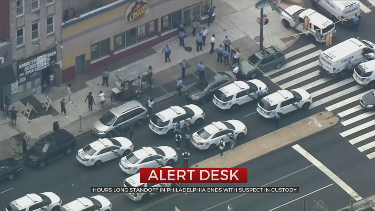 6 Officers Shot In Philadelphia Standoff