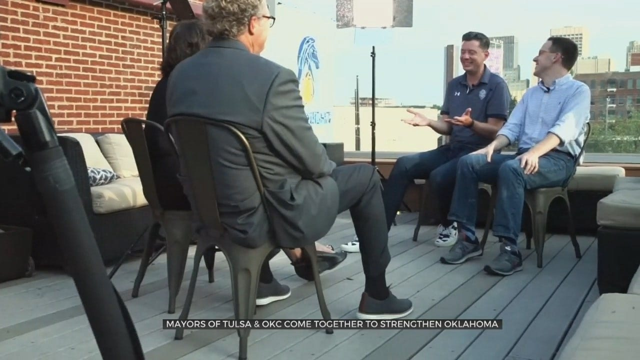 Tulsa, OKC Mayors Work Together To Make Positive Statewide Impact