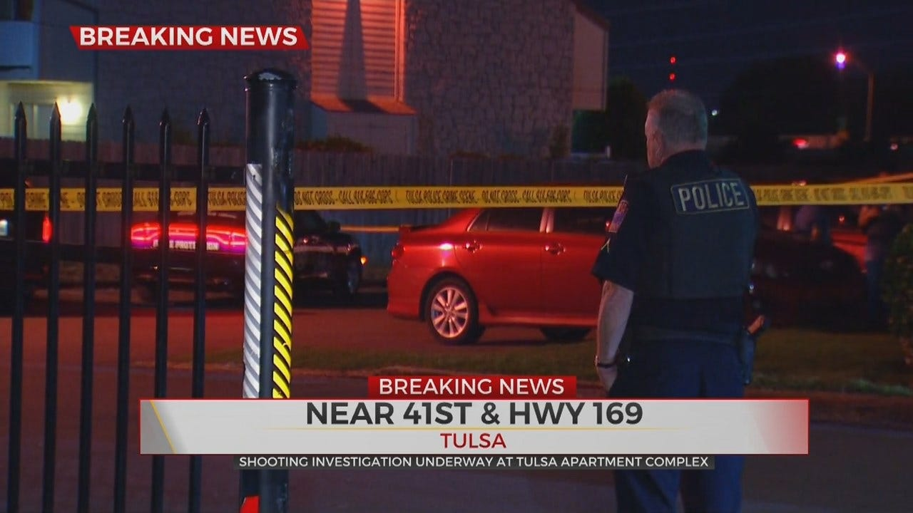 Tulsa Police Investigating Shooting At Silvercreek Apartments