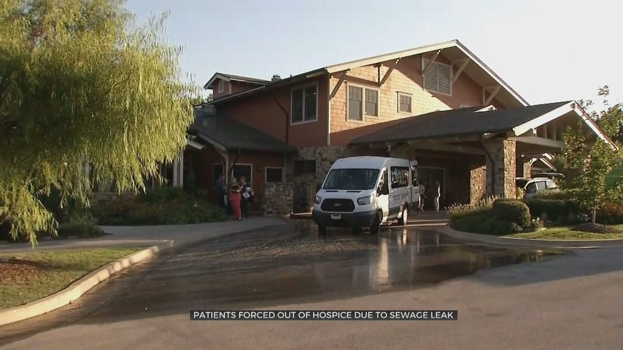 UPDATE: Tulsa Clarehouse Hospice Guests Moved After Sewage Leak