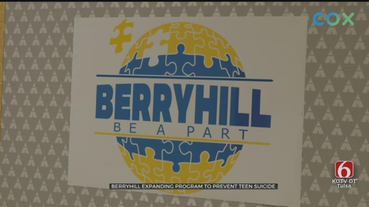 Berryhill Middle School, High School Start 'Be A Part' Program
