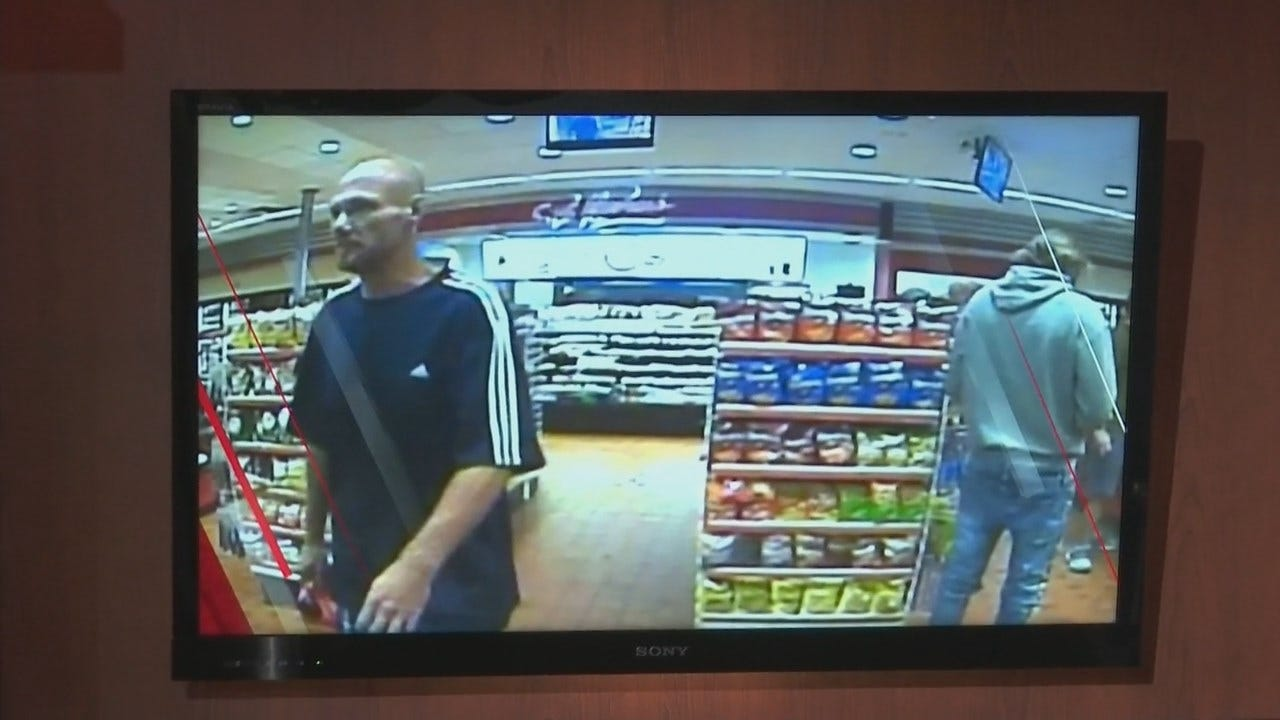 Glenpool Police Searching For 2 Connected To Stolen Bank Card