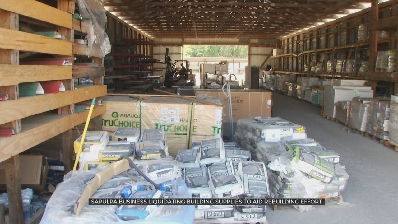 Sapulpa Company Holds Auctions To Help Flood Victims Recover