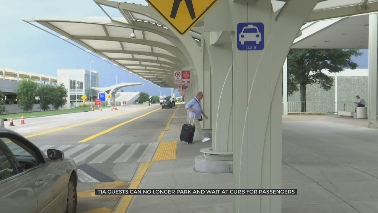 Tulsa International Airport: Parking For Passenger Pick-Up No Longer Permitted