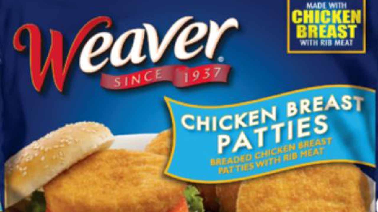Tyson Recalls Chicken Breast Patties After Complaints Of 'Extraneous Matter'