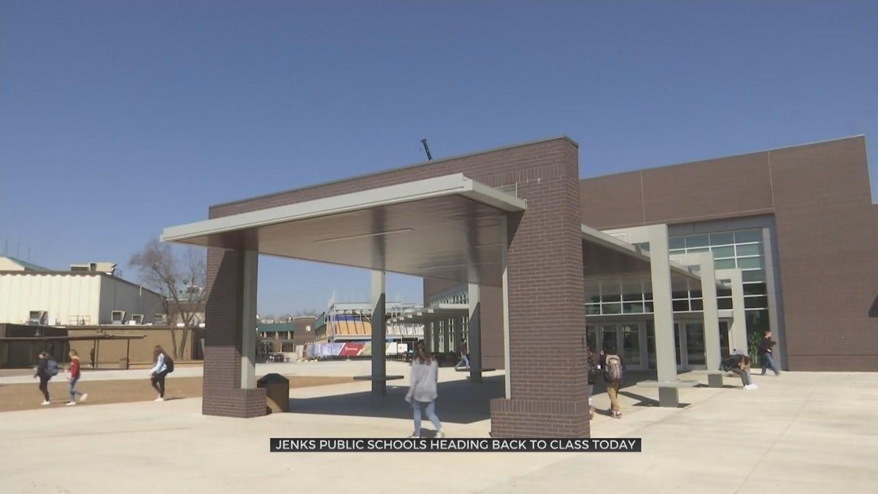 Back To School: Jenks Students Start Back Tuesday