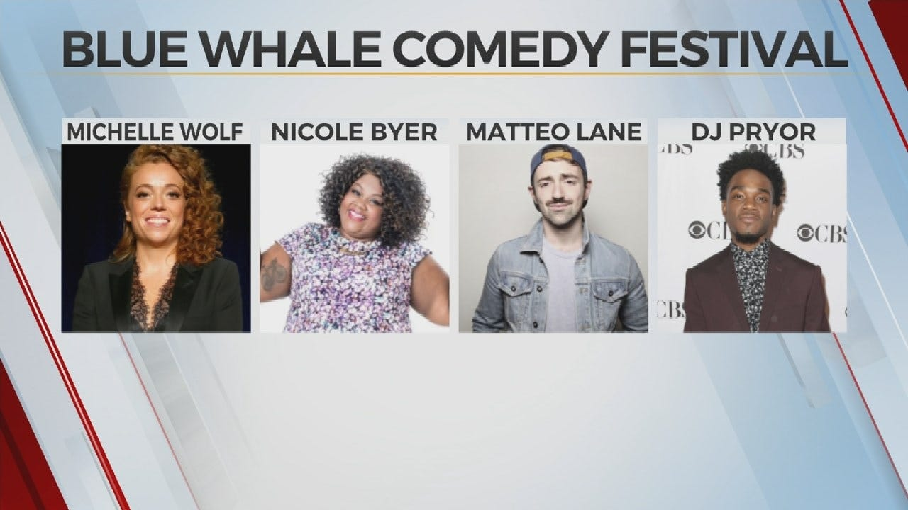 Blue Whale Comedy Festival Promising Big Laughs