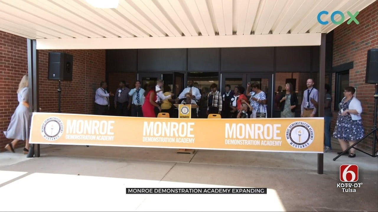 Monroe Demonstration Academy Cuts The Ribbon On Major Expansion