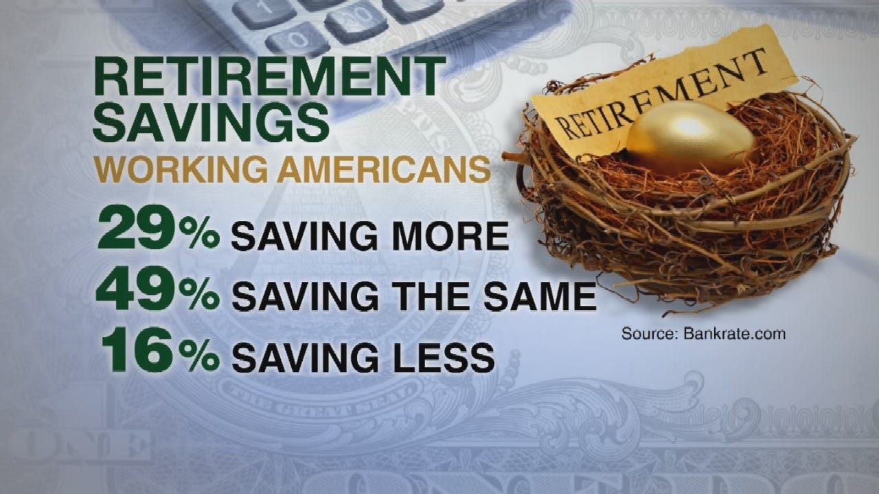 Financial Experts Say Americans Should Save 15% Of Pay For Retirement
