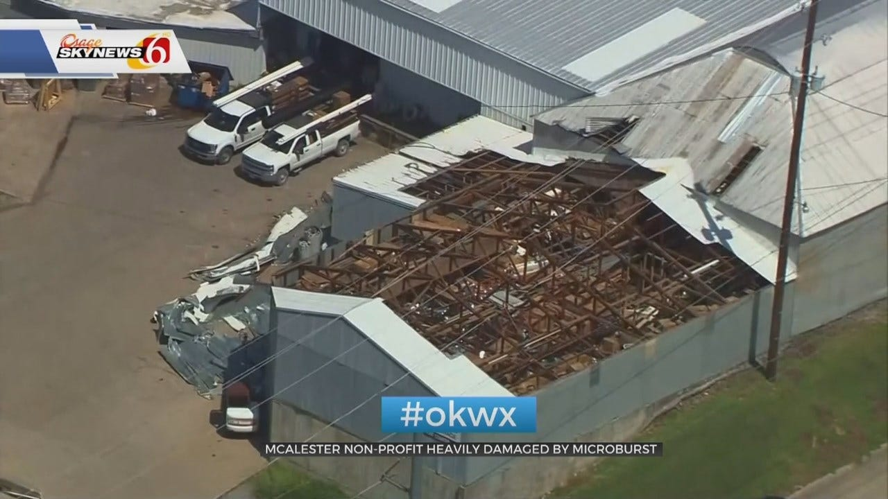 McAlester Nonprofit Looks Forward After Their Roof Was Blown Off
