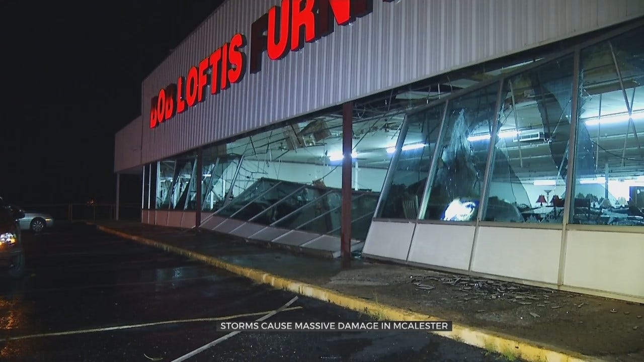 Tuesday Storm Causes Wind Damage In McAlester