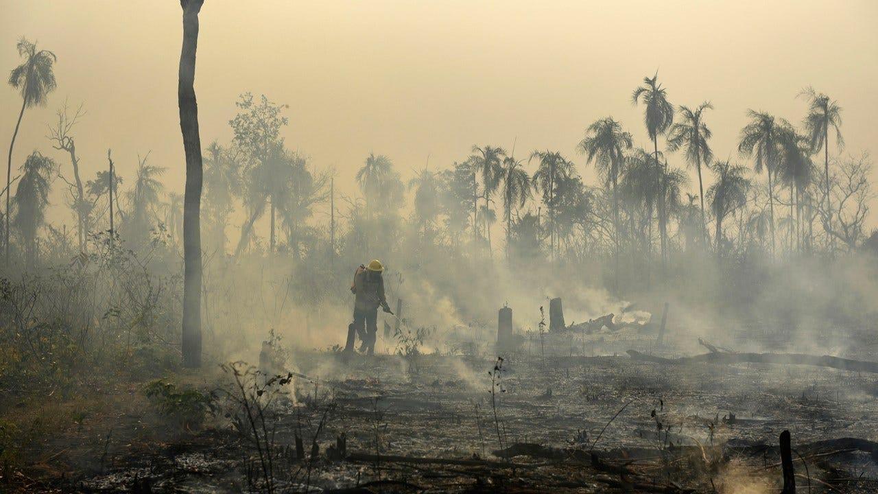Global Worry Over Amazon Fires Escalates; Bolsonaro Defiant