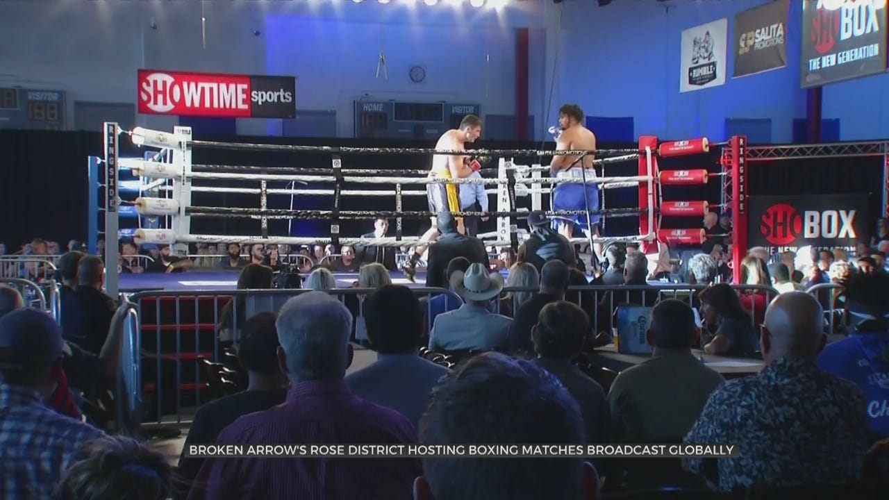 Broken Arrow's Rose District Hosts World-Wide Boxing