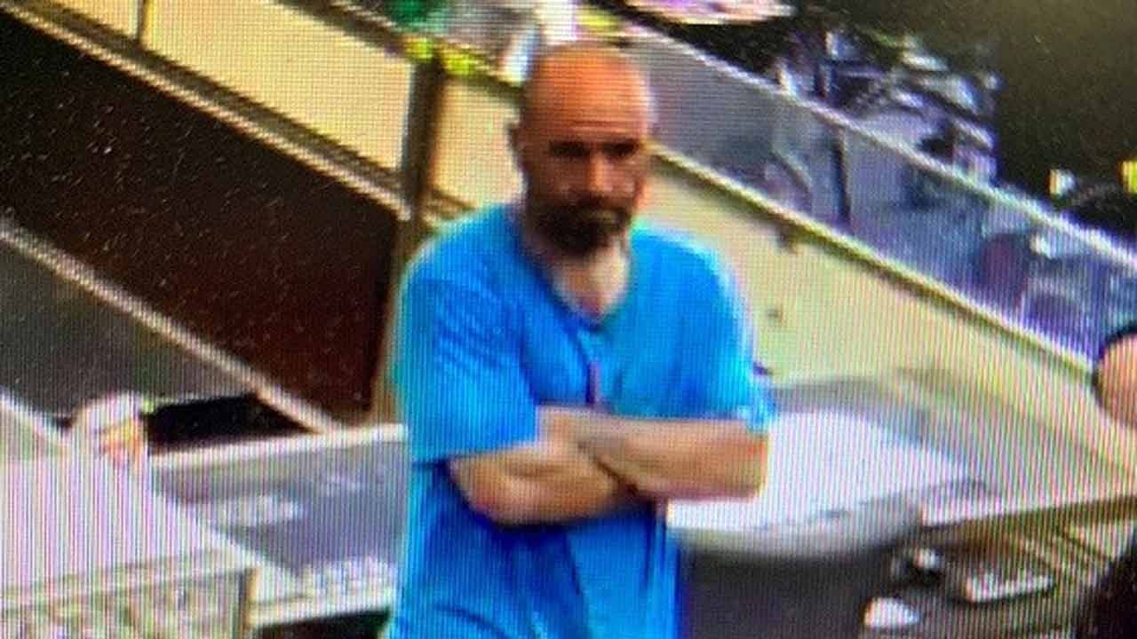 Tulsa Police Release Photo Of Man Sought In Theft Of Band's Trailer