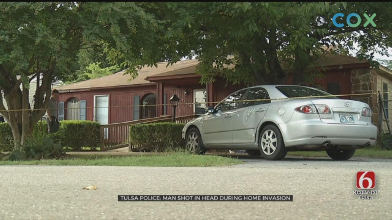 Tulsa Man Hospitalized After Being Shot During Home Invasion